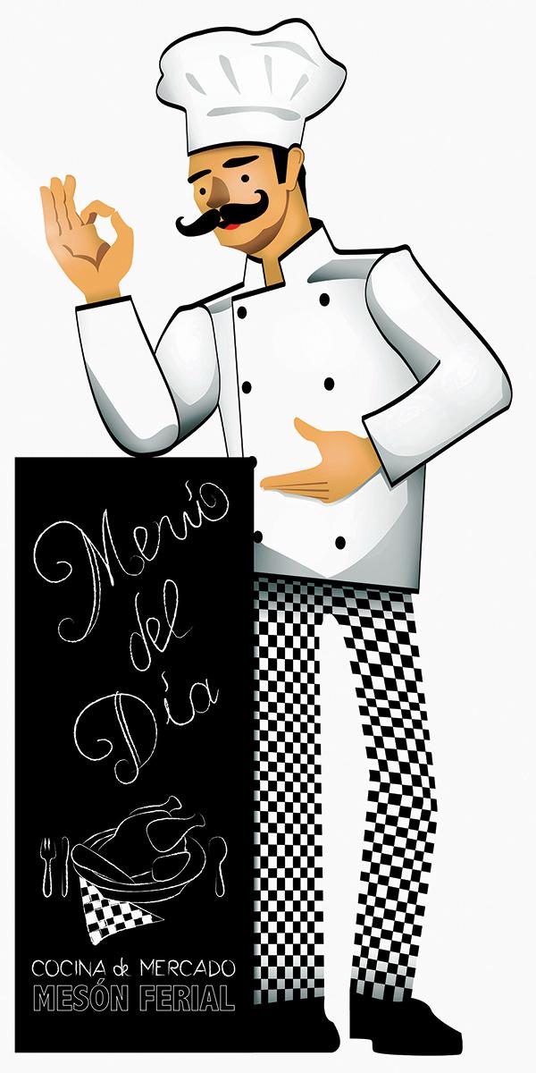 alejo negro / El Cocinero del Mesón Ferial